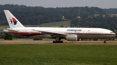 9M-MRI - Boeing 777-2H6(ER) - Malaysia Airlines
