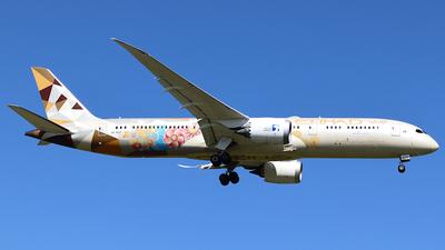 A6-BLO - Boeing 787-9 Dreamliner - Etihad Airways