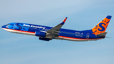 N823SY - Boeing 737-85P - Sun Country Airlines