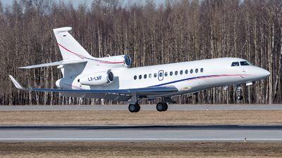 LX-LMF - Dassault Falcon 7X - Global Jet Luxembourg