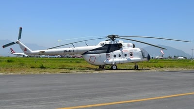 9N-AHT - Mil Mi-8MTV-1 Hip - Shree Airlines