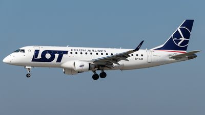 SP-LIK - Embraer 170-200LR - LOT Polish Airlines