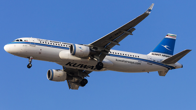 9K-AKG - Airbus A320-214 - Kuwait Airways