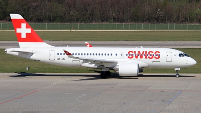 A picture of HBJBI - Airbus A220100 - Swiss - © AirBusAl