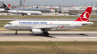 TC-JPB - Airbus A320-232 - Turkish Airlines