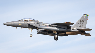 91-0311 - McDonnell Douglas F-15E Strike Eagle - United States - US Air Force (USAF)