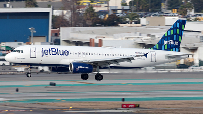 A picture of N510JB - Airbus A320232 - JetBlue Airways - © Yixin Chen