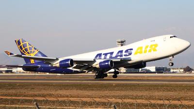 N492MC - Boeing 747-47UF(SCD) - Atlas Air