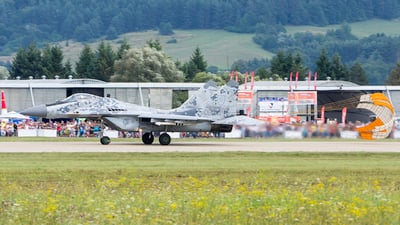 0619 - Mikoyan-Gurevich MiG-29AS Fulcrum A - Slovakia - Air Force