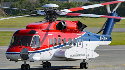 A picture of LNOQH - Sikorsky S92A - CHC Helikopter Service - © Rrimestad