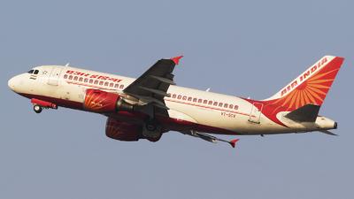 VT-SCV - Airbus A319-112 - Air India