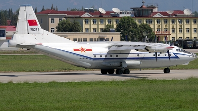 20247 - Shaanxi Y-8C - China - Air Force