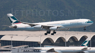 B-HXF - Airbus A340-313X - Cathay Pacific Airways