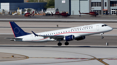 N177HQ - Embraer 190-100IGW - Republic Airways