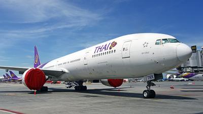 A picture of HSTKK - Boeing 7773AL(ER) - Thai Airways - © Tek