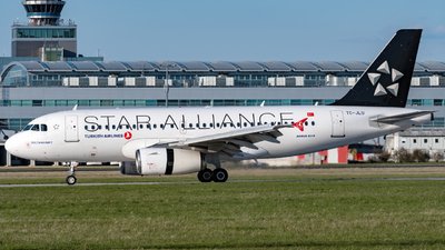 A picture of TCJLU - Airbus A319132 - Turkish Airlines - © Dawe
