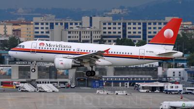 EI-DFA - Airbus A319-112 - Meridiana