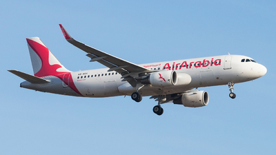A6-AOA - Airbus A320-214 - Air Arabia