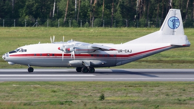 UR-CAJ - Antonov An-12BK - Ukraine Air Alliance (UAA)