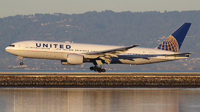 A picture of N774UA - Boeing 777222 - United Airlines - © Jamie West