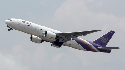HS-TJA - Boeing 777-2D7 - Thai Airways International