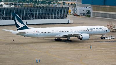 B-KPM - Boeing 777-367ER - Cathay Pacific Airways