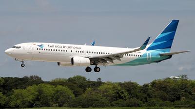 A picture of PKGMU - Boeing 7378U3 - Garuda Indonesia - © Francesco Andrae