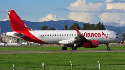 N603AV - Airbus A320-233 - Avianca