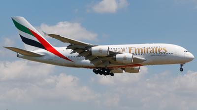 A6-EEB - Airbus A380-861 - Emirates