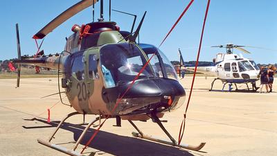 A17-020 - Bell 206B-1 Kiowa - Australia - Army