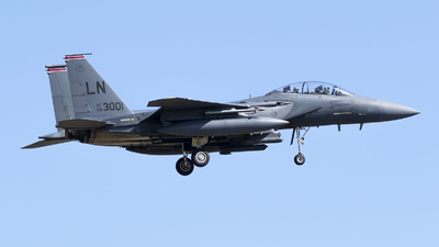 00-3001 - Boeing F-15E Strike Eagle - United States - US Air Force (USAF)