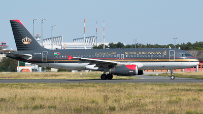 JY-AYW - Airbus A320-232 - Royal Jordanian