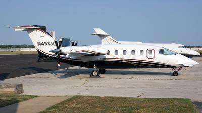 N493JD - Piaggio P-180 Avanti II - Private