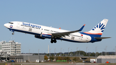 A picture of TCSOP - Boeing 7378AS - SunExpress - © Stefan Mayer