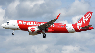 9M-RAG - Airbus A320-216 - AirAsia
