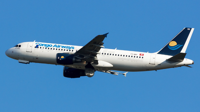 TS-INH - Airbus A320-214 - Congo Airways (Nouvelair)