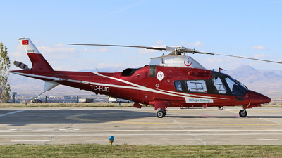 TC-HJO - Agusta-Westland AW-109E Power Elite - Turkey - Ministry of Health