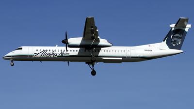 A picture of N418QX - De Havilland Canada Dash 8400 - [4143] - © Daniel Schwinn