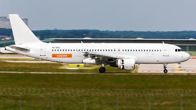 ES-SAQ - Airbus A320-214 - easyJet (SmartLynx Estonia)
