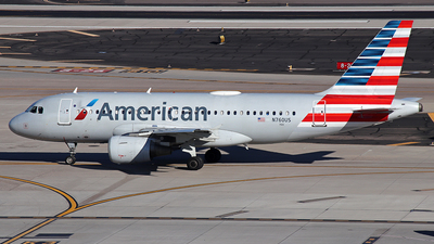 N760US - Airbus A319-112 - American Airlines