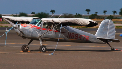 N89476 - Cessna 140 - Private