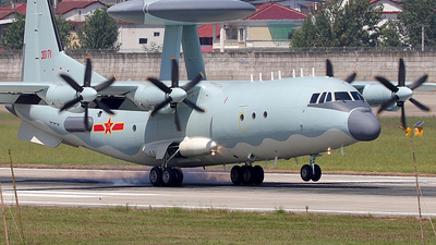 30171 - Shaanxi Y-9/KJ500 - China - Air Force