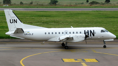 UR-ELZ - Saab 340B - United Nations (Air Urga)