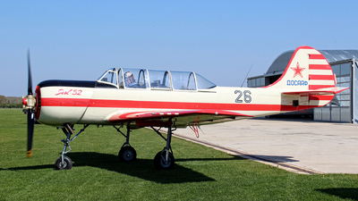 G-BVXK - Yakovlev Yak-52 - Private