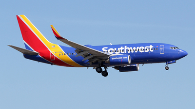 N7725A - Boeing 737-76N - Southwest Airlines