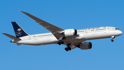 HZ-ARC - Boeing 787-9 Dreamliner - Saudi Arabian Airlines