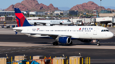 N326US - Airbus A320-211 - Delta Air Lines