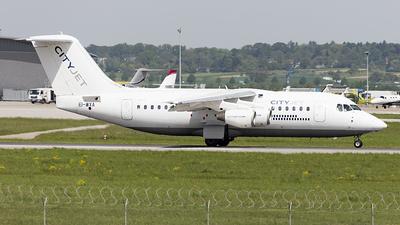 EI-WXA - British Aerospace Avro RJ85 - CityJet