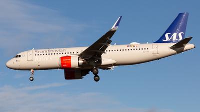 A picture of EISII - Airbus A320251N - SAS - © Stefan Kronqvist