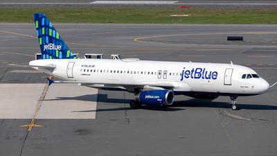 A picture of N796JB - Airbus A320232 - JetBlue Airways - © OCFLT_OMGcat